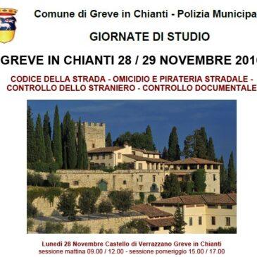 Greve in Chianti 28-29 Novembre 2016: giornate di studio