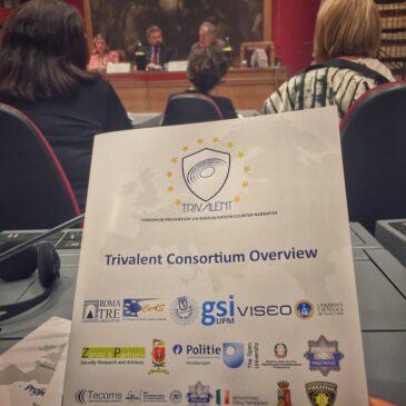 Conferenza iniziale progetto Trivalent